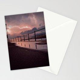 Lightening strikes Stationery Cards