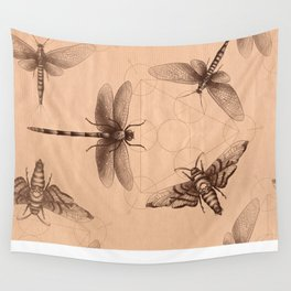 Dark Insect's Black Magic Wall Tapestry
