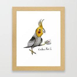 Cocka-tea-l Framed Art Print