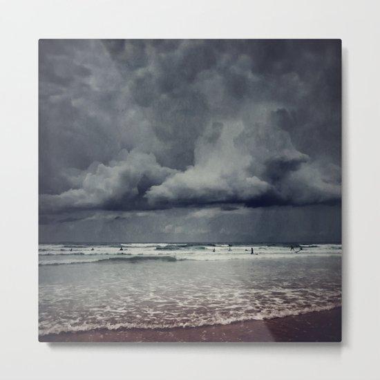 elemental - surf and clouds Metal Print