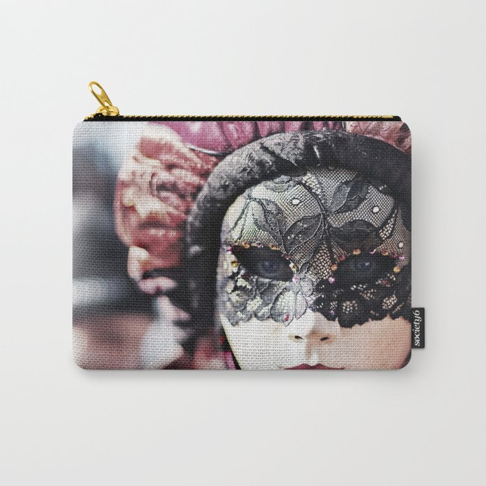 Italy Venice Mask 4 woman Carry-All Pouch