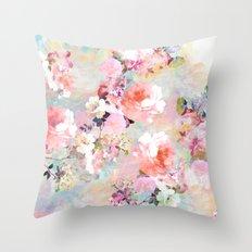 Love of a Flower Throw Pillow