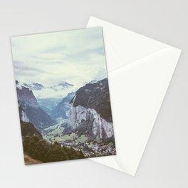 Lauterbrunnen Switzerland Stationery Cards