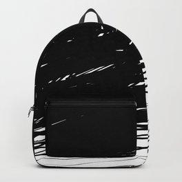 Scribbled Lines Backpack