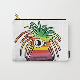Funny color monster.  Carry-All Pouch
