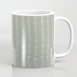 succulent green lines Coffee Mug