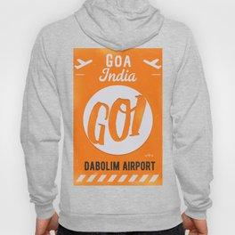 GOI GOA orange Hoody