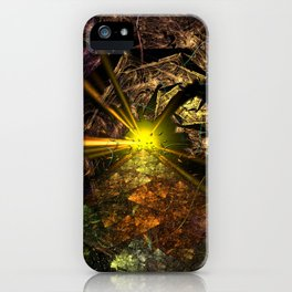 Machu Picchu 3D Fractal iPhone Case