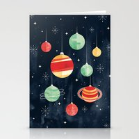 Stationery Cards featuring Joy to the Universe by littleclyde