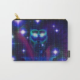 """""""Face of the Universe"""" by surrealpete Carry-All Pouch"""