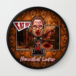 Hannibal Lecter! Wall Clock