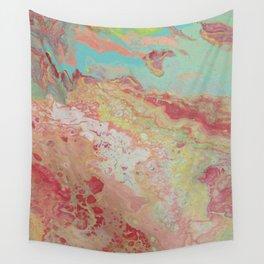 pastel rainbow Wall Tapestry