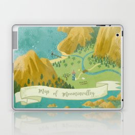 Moominvalley Map Interpretation (1/3) Laptop & iPad Skin