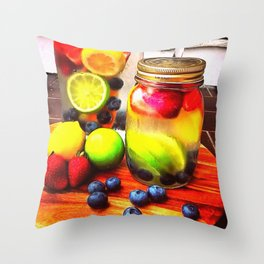 Fruitful Goodness Throw Pillow