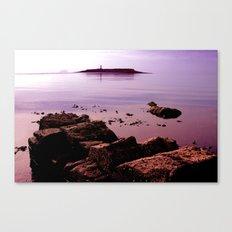Pladda Sunset Canvas Print