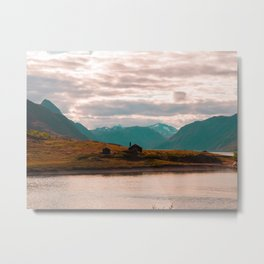 Mountain House Metal Print