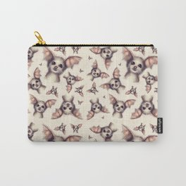 What the Fox - Pattern Carry-All Pouch