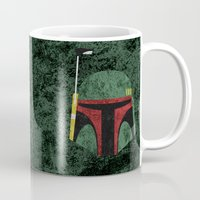 boba Mugs featuring Boba Fett by Some_Designs