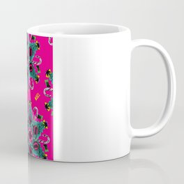 pop pattern_christmas Coffee Mug