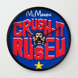 Crush-It Comrade Wall Clock