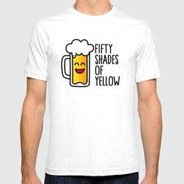 50 shades of yellow T-shirt