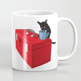 Chat Noir Beverage Tipper Coffee Mug