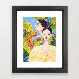 Garden Day Framed Art Print