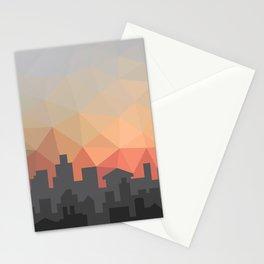 Sunset Cityscape Stationery Cards