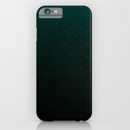 Emerald and Gold Accents iPhone Case