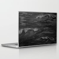 fierce Laptop & iPad Skins featuring Fierce Waves by Syella