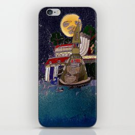 Full Moon Castle iPhone Skin
