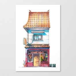 Tokyo Storefront #04 Canvas Print