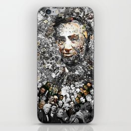 """Rendering Myself Worthy"" Abraham Abe Lincoln. iPhone Skin"