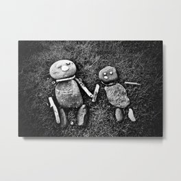 Together Metal Print