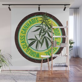 World Class Cannabis Wall Mural