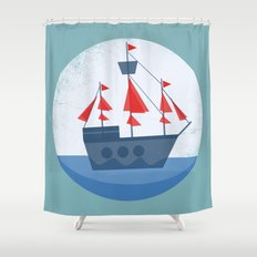Set Sail Shower Curtain