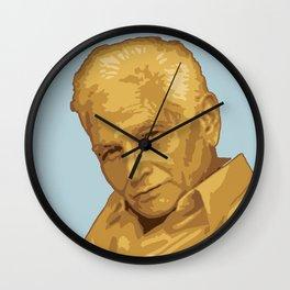 Jacques Derrida Wall Clock