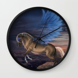 Guardian of the Wind Wall Clock