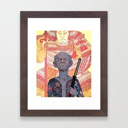 Oyabun Framed Art Print