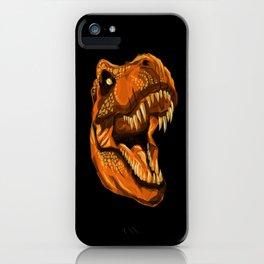 Geometric T-Rex iPhone Case