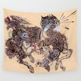 Romulus and Remus Wall Tapestry