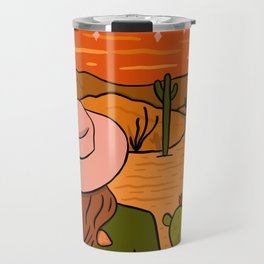 Desert Girl Travel Mug