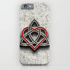 Celtic Knotwork Valentine Heart Bone Texture 1 Slim Case iPhone 6s