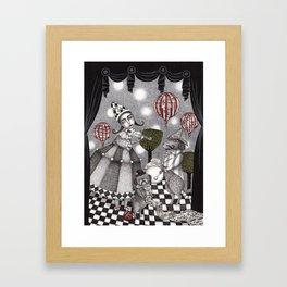 Alice's After Tea Concert Framed Art Print