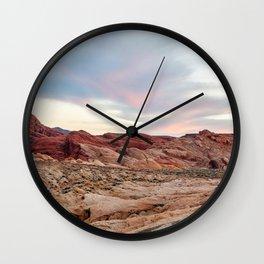Nevada Mountains 8-7 Wall Clock