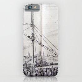 Johannes Hevelius - Celestial Devices, Part 1 - Plate 1 iPhone Case