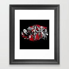 RHPS - gang of six toon party Framed Art Print