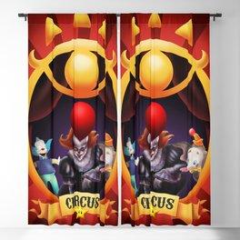 Fan Art Circus Blackout Curtain