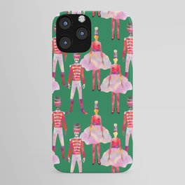 Nutcracker Ballet - Green  iPhone Case