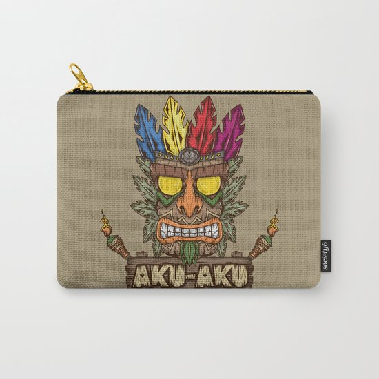 Aku-Aku (Crash Bandicoot) Carry-All Pouch